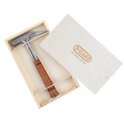 Coffret avec marteau de charpentiers en cuir